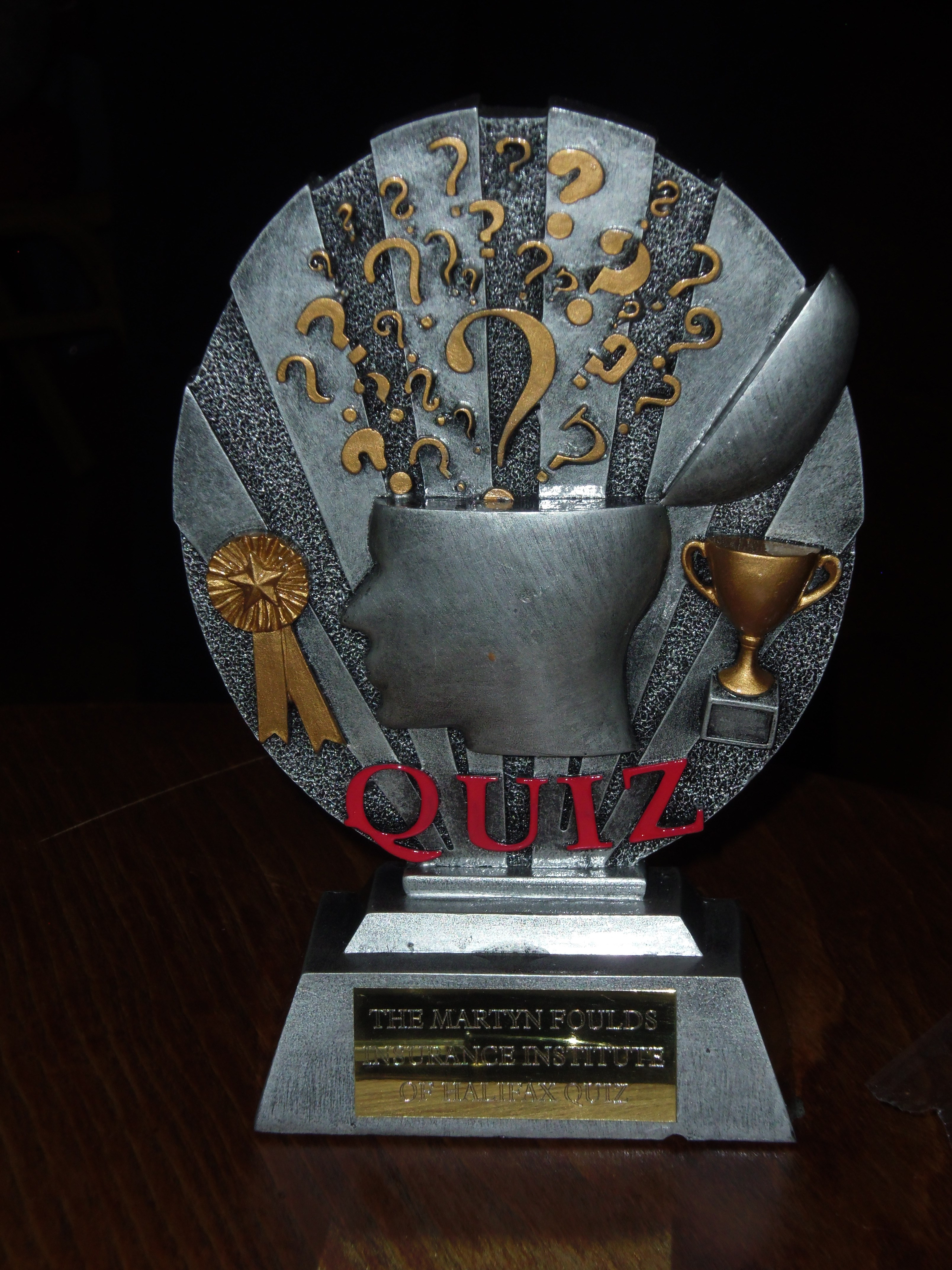 Halifax Institute Quiz Night 2017